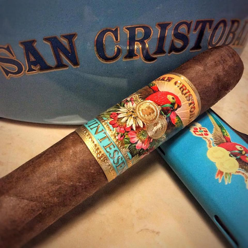 Cigar News: Ashton Adds San Cristobal Quintessence Corona Gorda at 2017 IPCPR