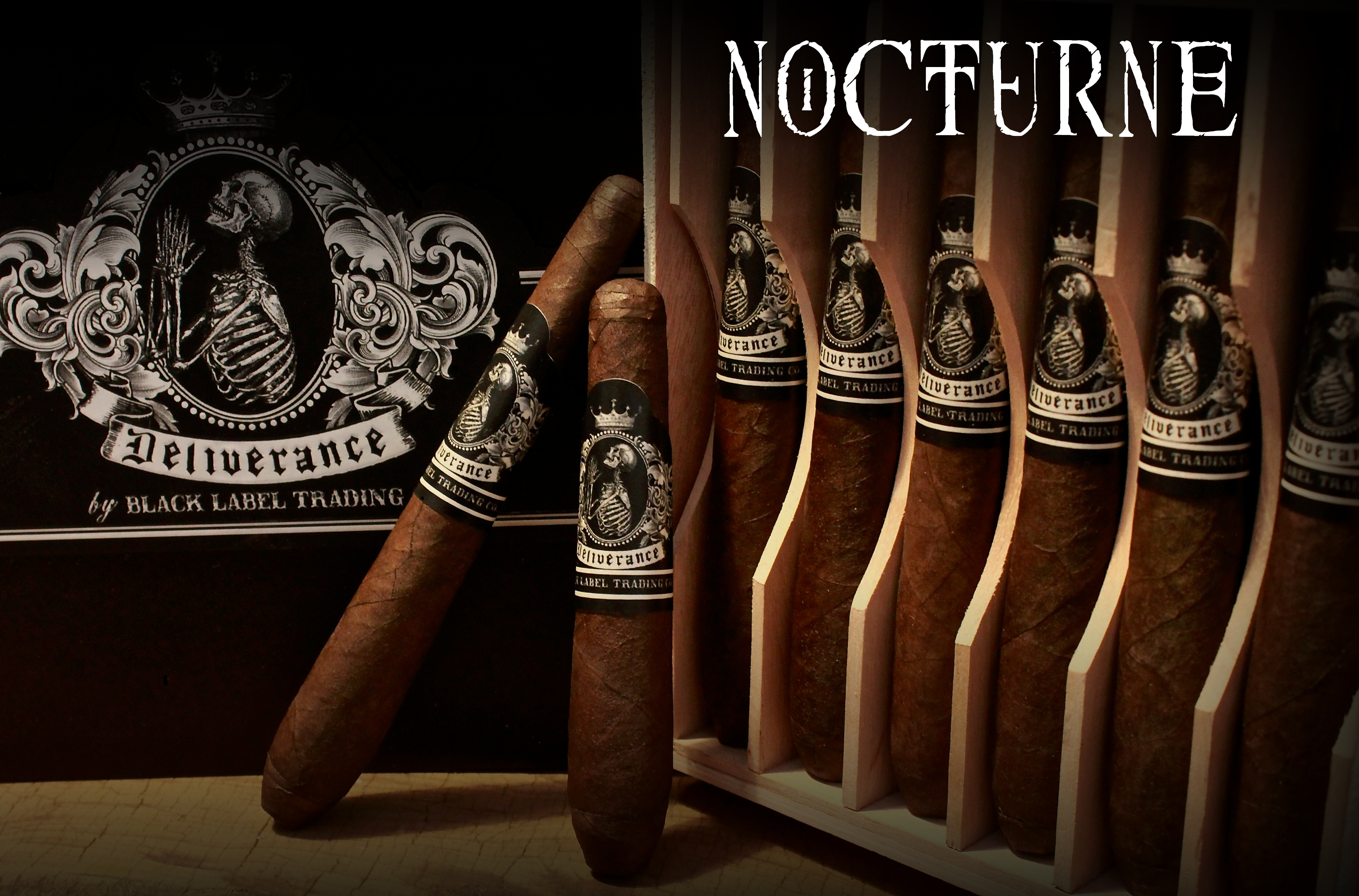 Cigar News: Black Label Trading Company Deliverance Nocturne Returns with Third Size
