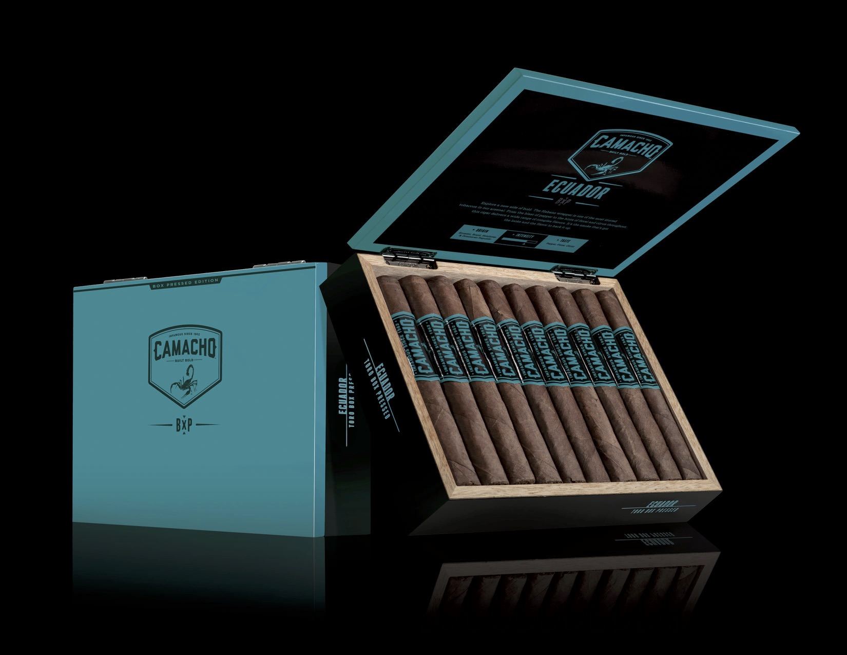 Cigar News: Camacho BXP Adds Box Pressed Offerings to Three Lines