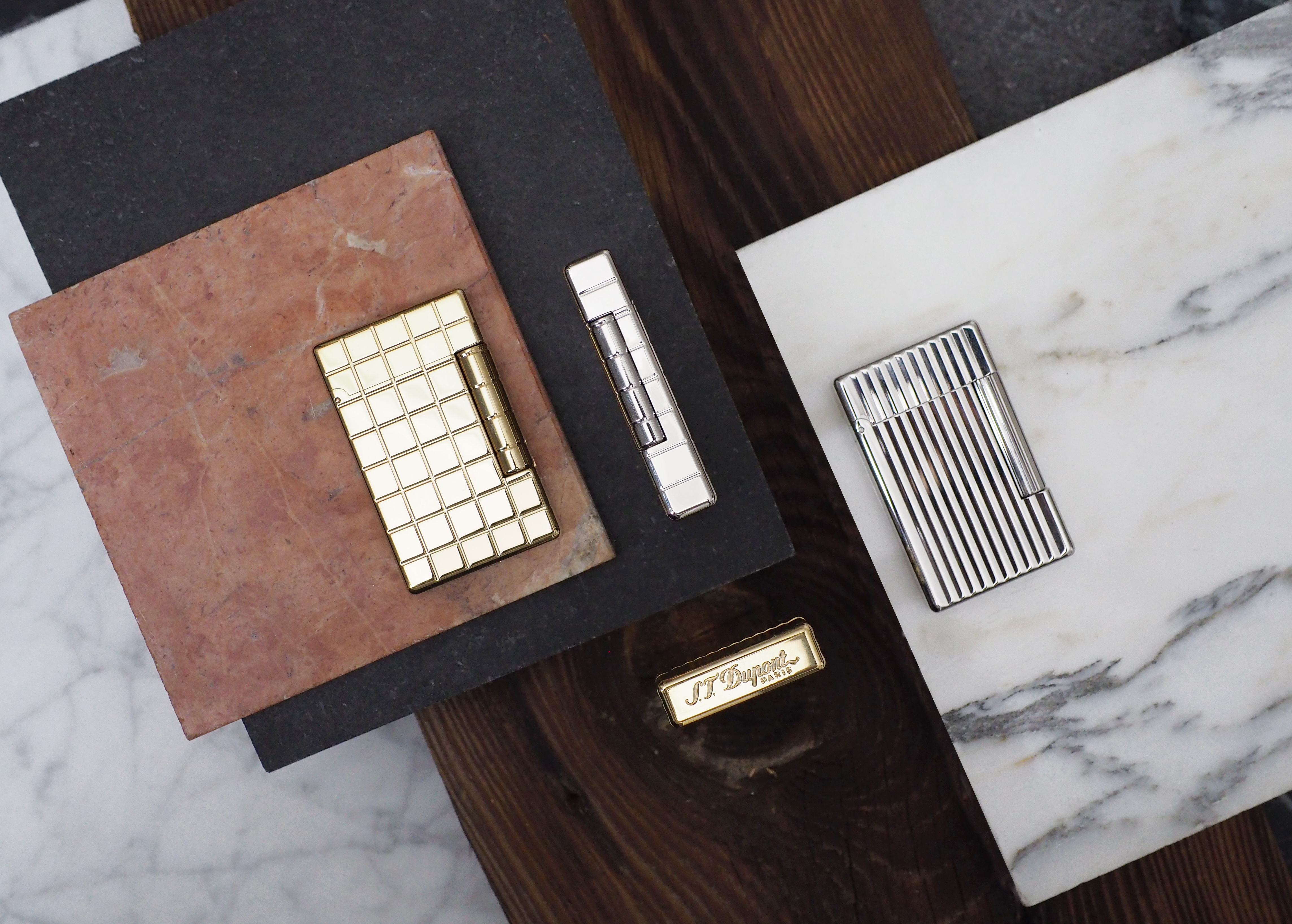 Cigar News: S.T. Dupont Initial Lighter Commemorates 75 Years of Brand