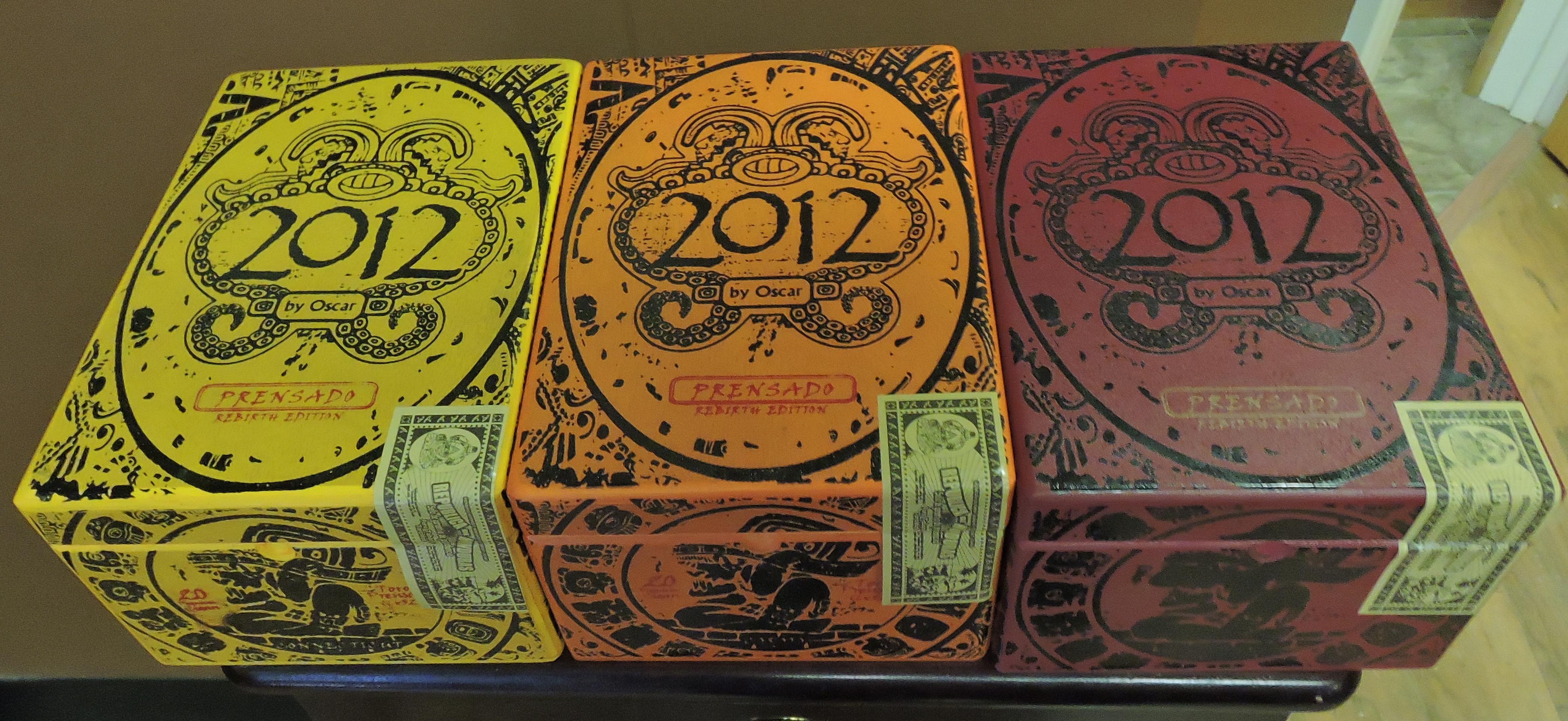 Cigar News: 2012 by Oscar Released by Oscar Valladares Tobacco & Co.