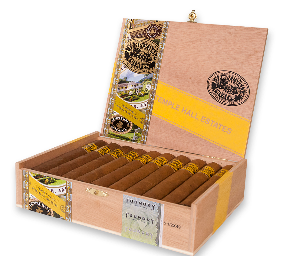 Cigar News: Foundry Temple Hall Estates Collection Launched