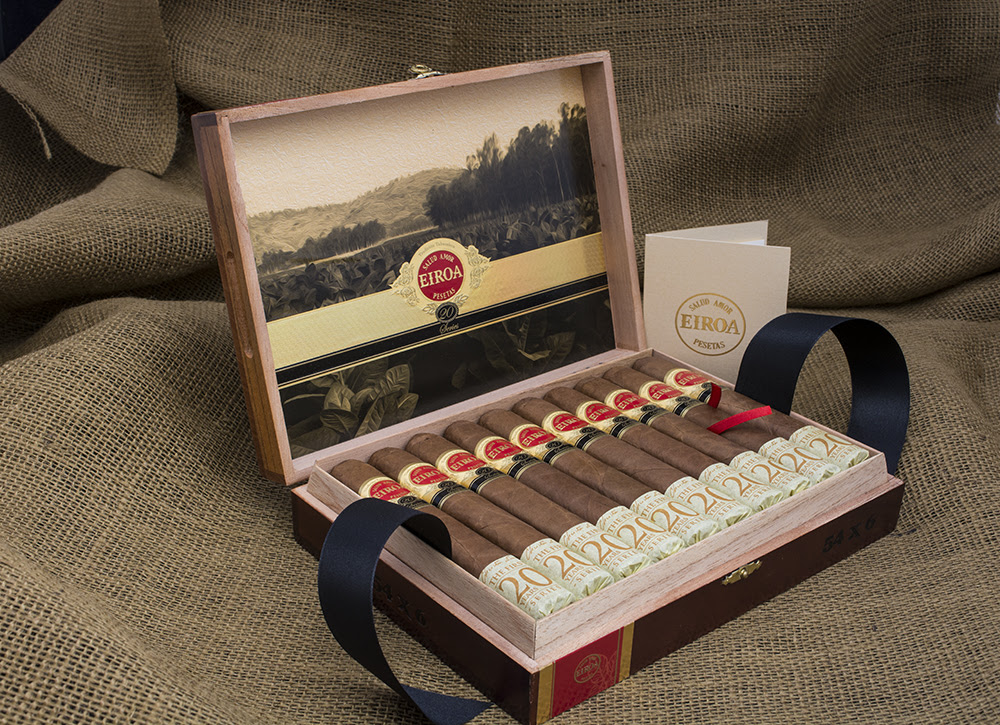 Cigar News: C.L.E. Cigar Company's EIROA The First 20 Colorado Now Available