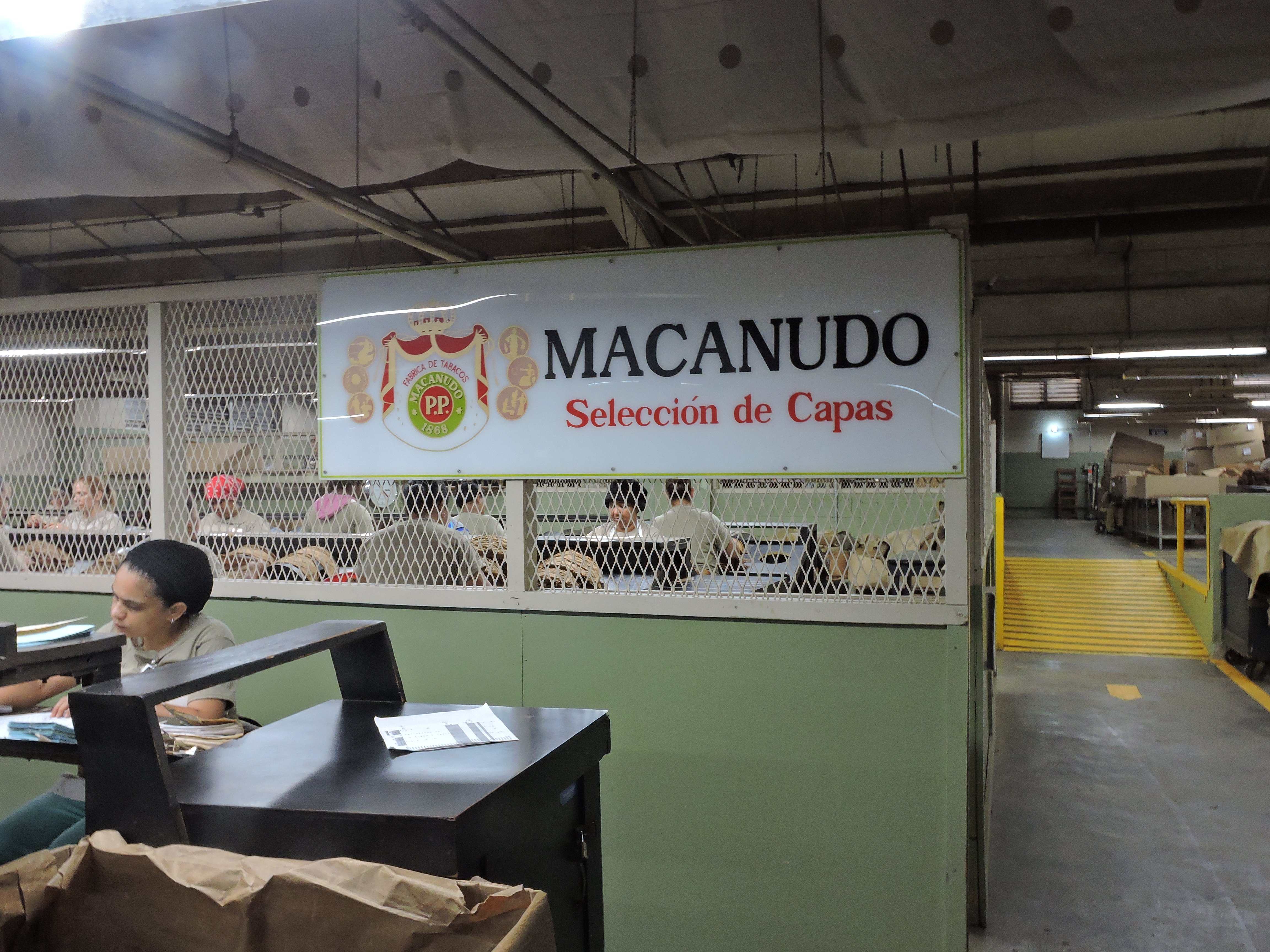 Macanudo Wrapper Section