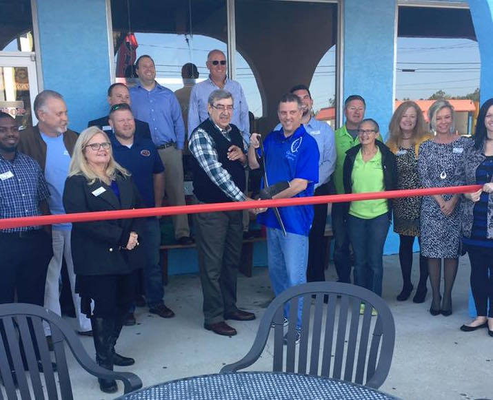 The Cigar Shop Ribbon Cutting