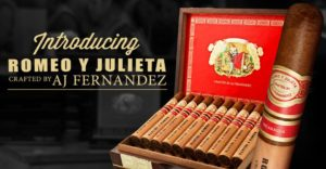 Cigar News: Santa Clara Begins Wider Distribution of Romeo y Julieta Crafted by A.J. Fernandez