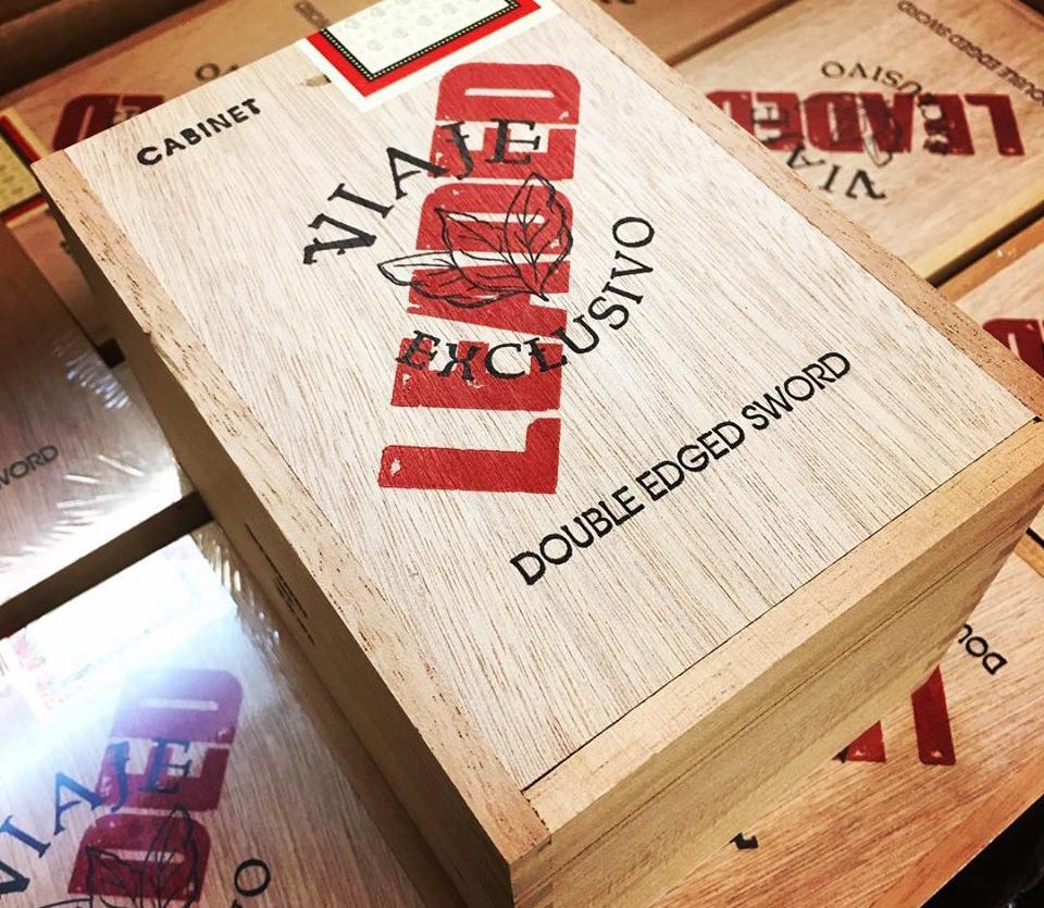 Cigar News: Viaje Exclusivo Leaded Double Edged Sword To Be Released