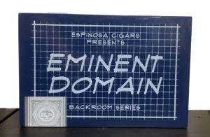 Cigar News: Espinosa Cigars Releases Eminent Domain