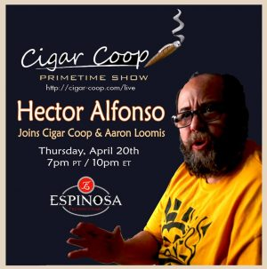 Prime Time Show Episode 2: Hector Alfonso, Espinosa Cigars