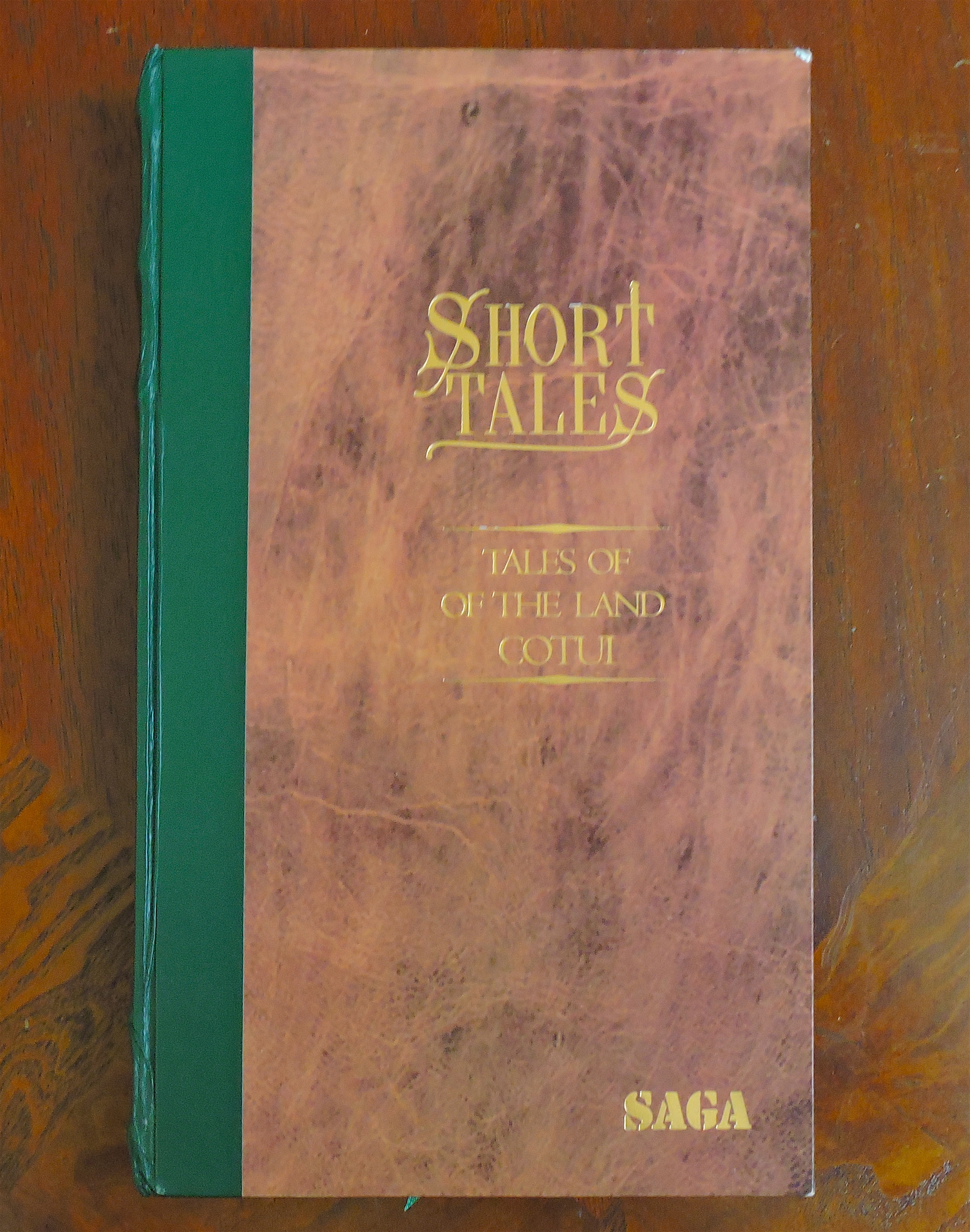 Saga Short Tales - Tales of the Land Cotui - Front