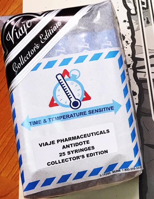 Viaje Zombie Antidote Collectors Edition