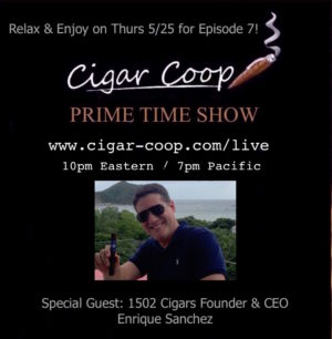 Announcement: Prime Time Show Episode 7: 5/25/17 10pm Eastern, 7pm Pacific