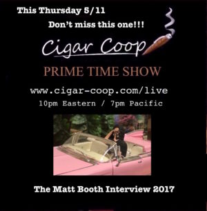 Announcement: Prime Time Show Episode 5: 5/11/17 10pm Eastern, 7pm Pacific