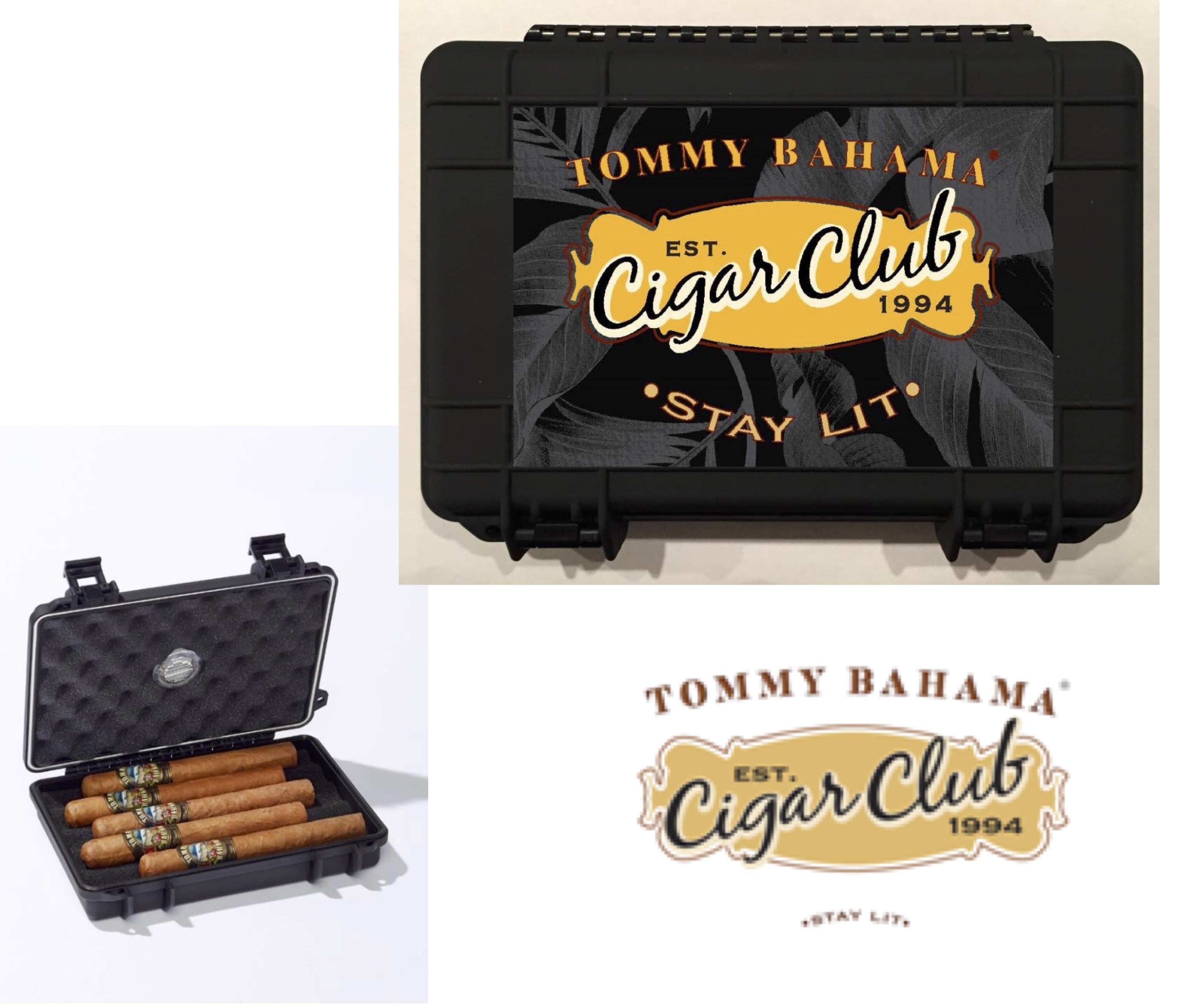 TTommy Bahama Cigar Club 610 Travel Case