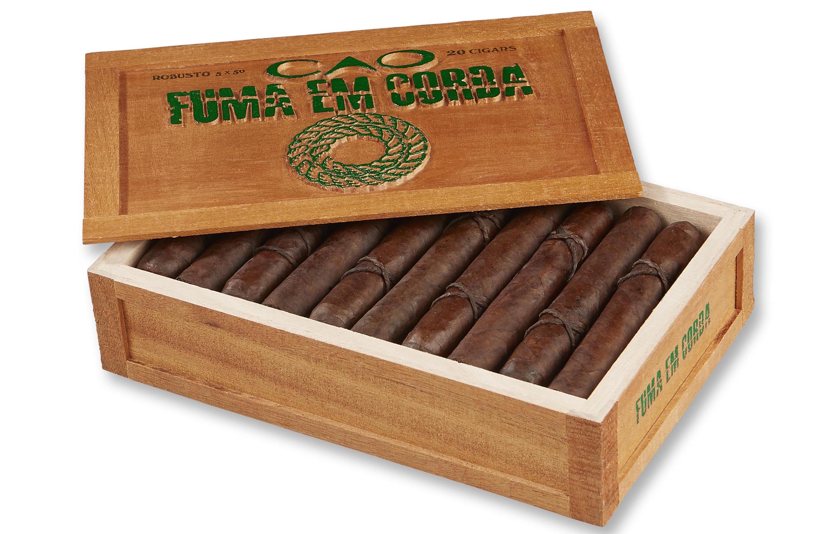 Cigar News: CAO Fuma Em Corda Announced