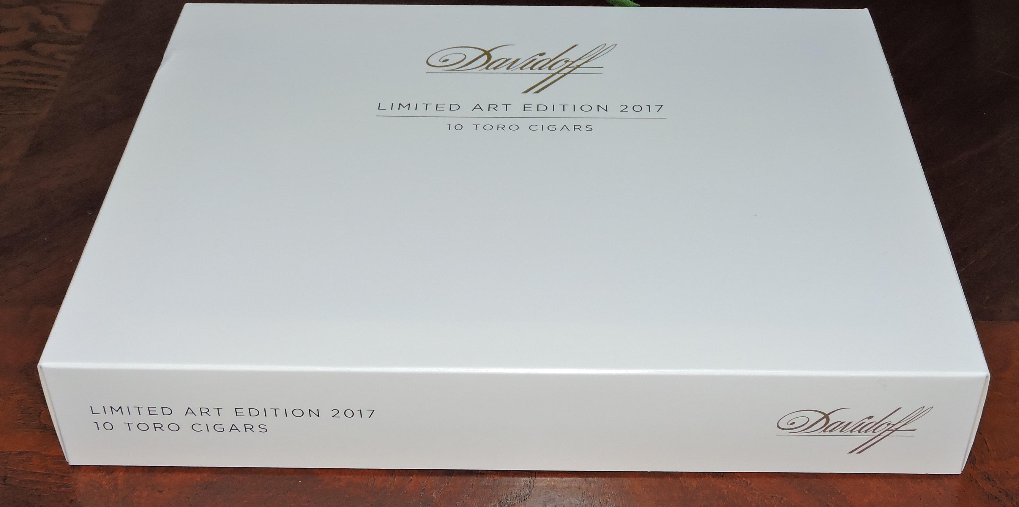 Davidoff Art Edition 2017 Packaging