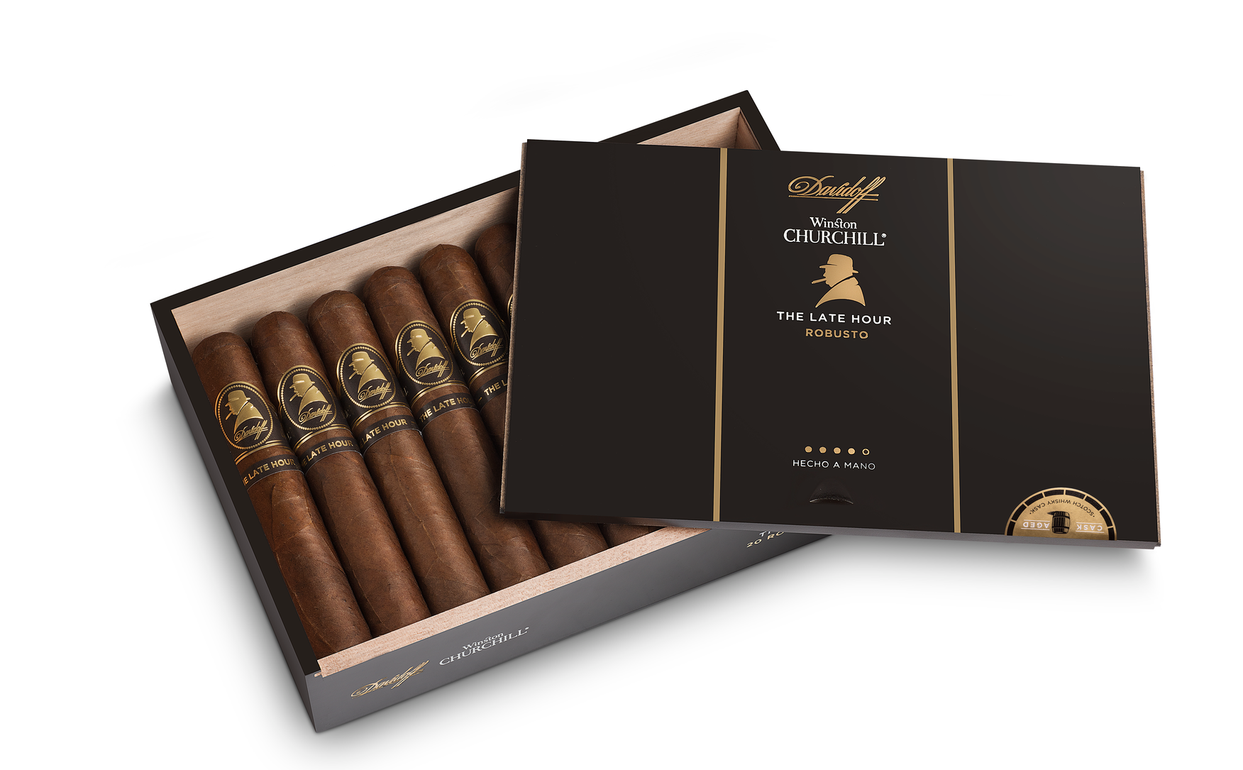 Davidoff Winston Churchill Line The Late Hour Box