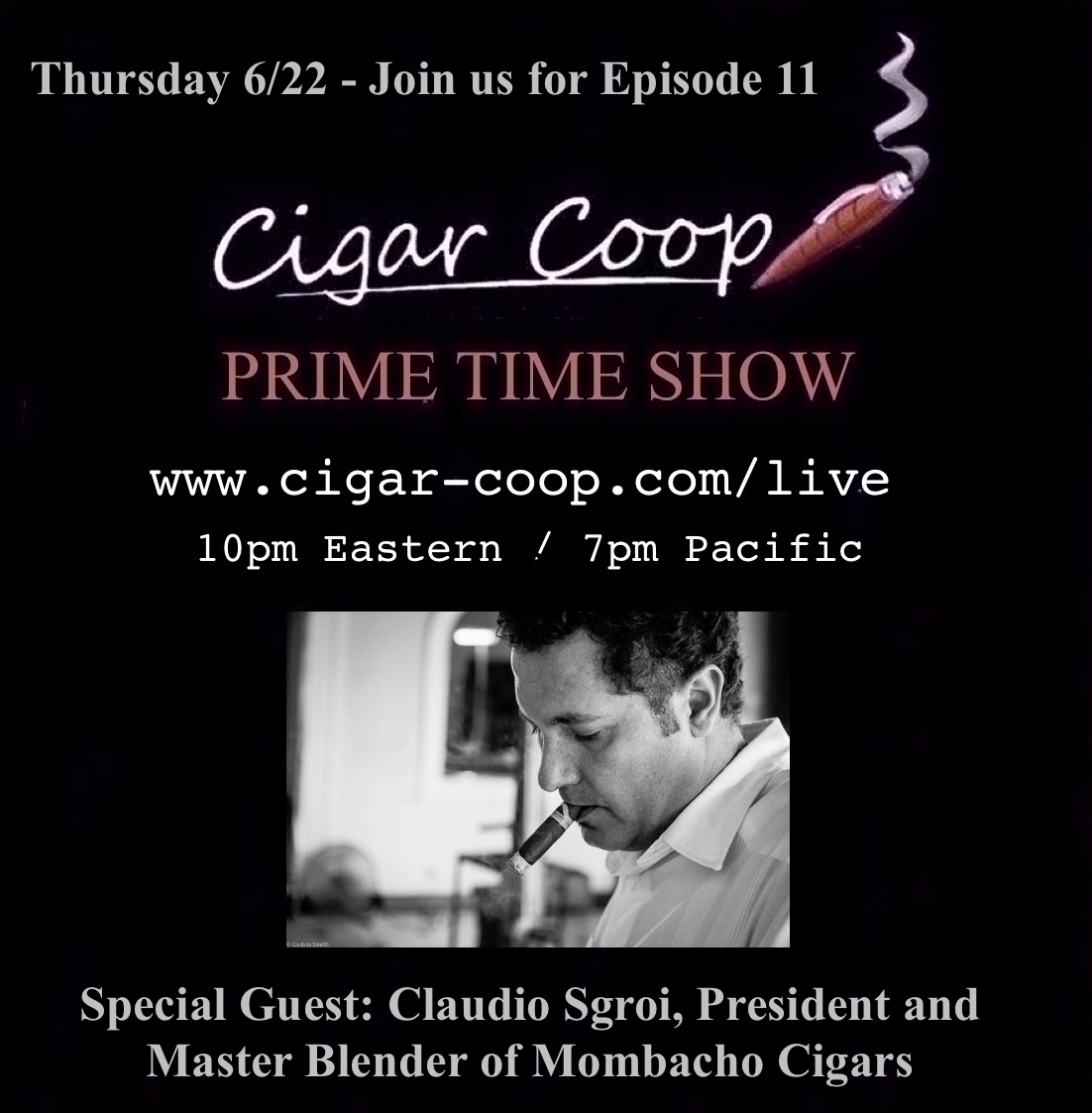 Announcement: Prime Time Show Episode 11: 6/22/17 10pm Eastern, 7pm Pacific