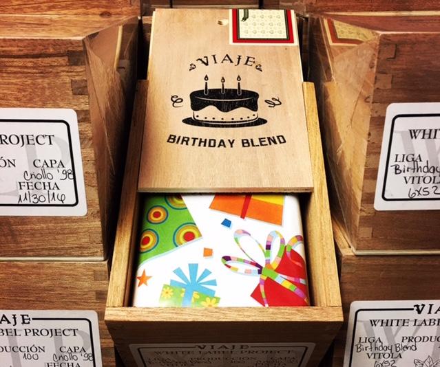 Cigar News: Viaje Birthday Blend Returns for 2017