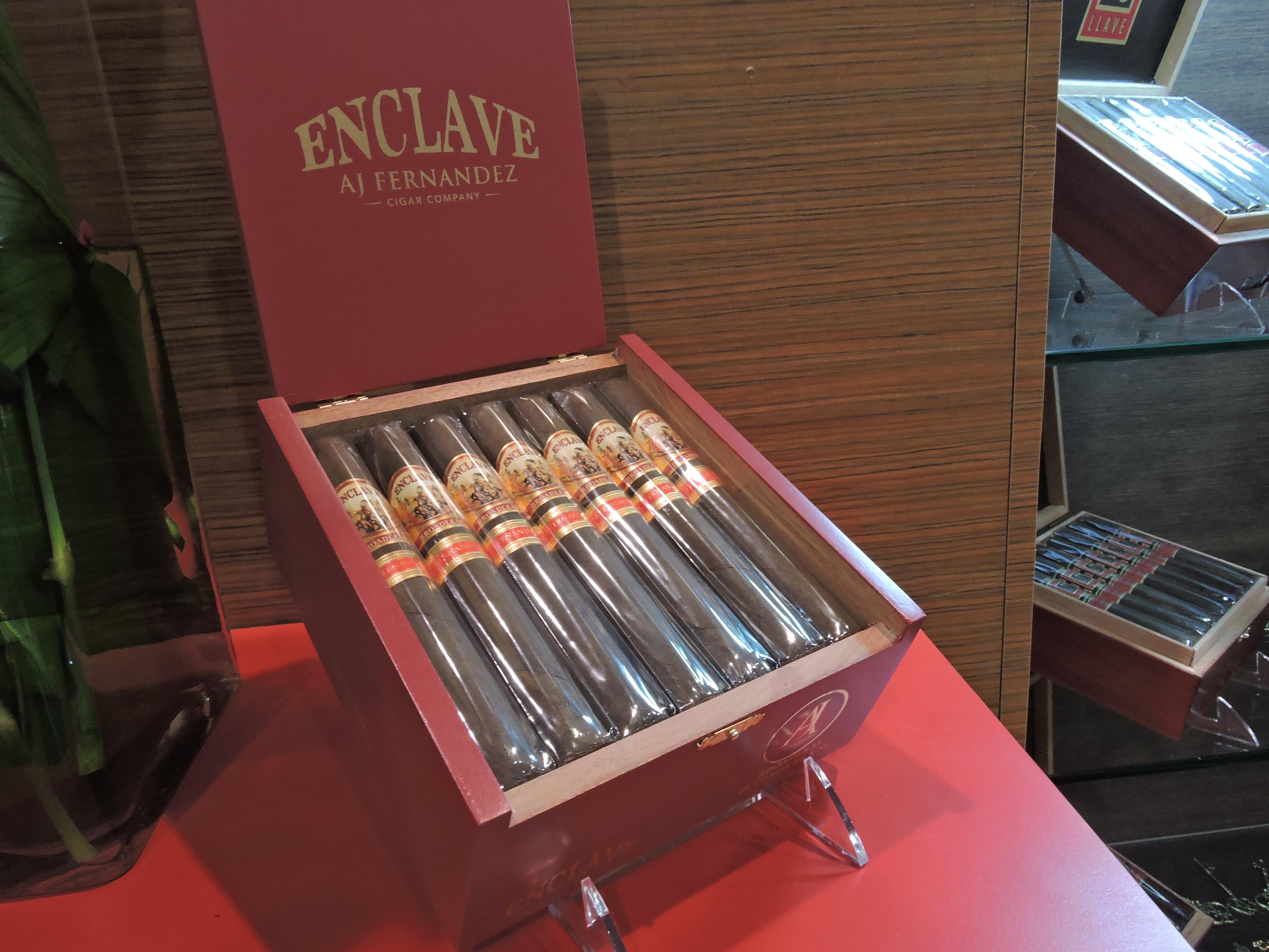 Cigar News: AJ Fernandez Enclave Broadleaf Showcased at 2017 IPCPR
