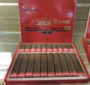 Cigar News: Aging Room Quattro F55 Maduro Goes National at 2017 IPCPR