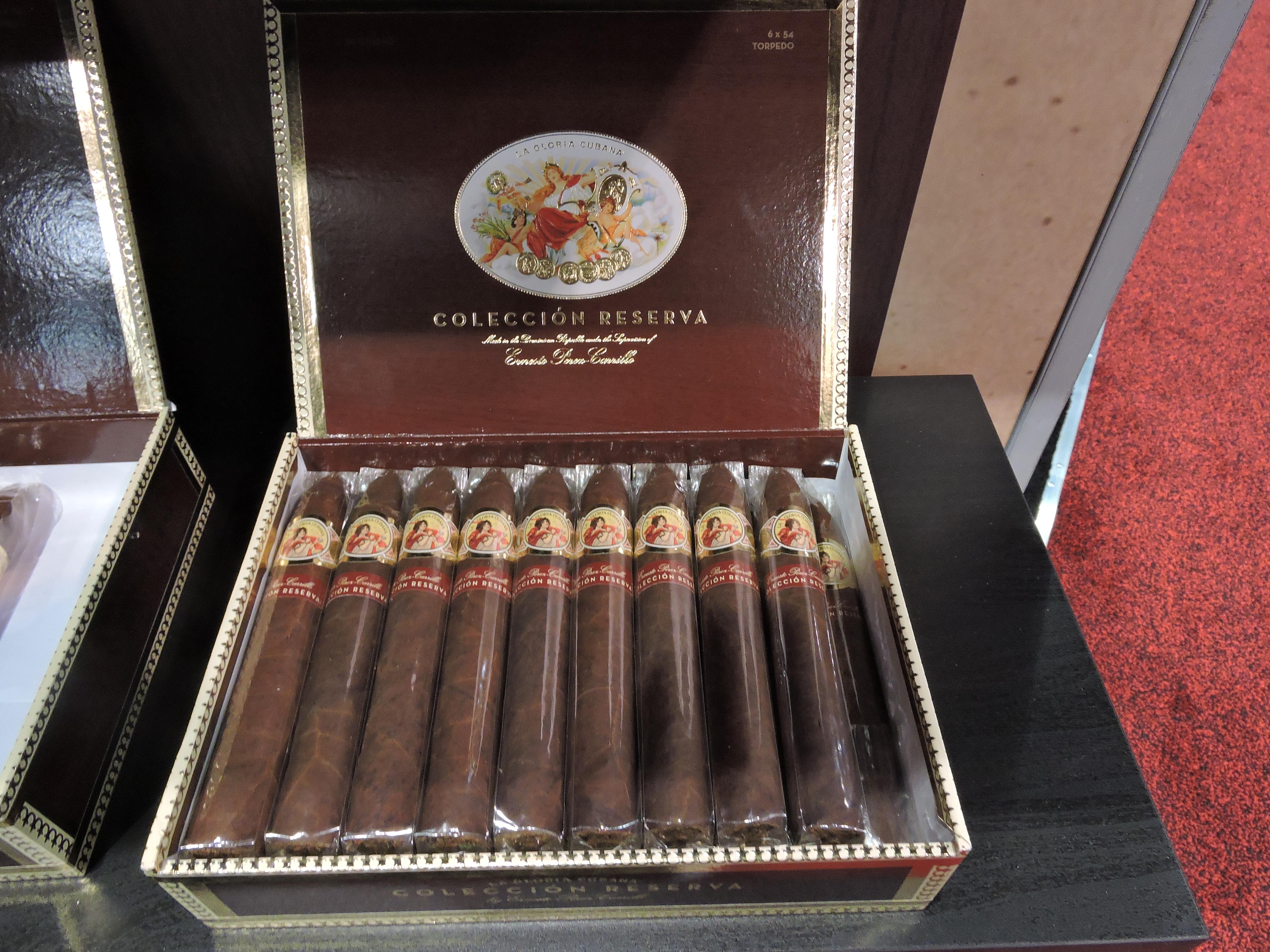 Cigar News: La Gloria Cubana Colección Reserva Launched at 2017 IPCPR