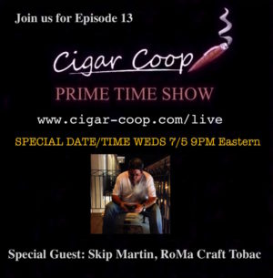 Announcement: Prime Time Show Episode 13: 7/5/17 9pm Eastern, 6pm Pacific