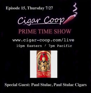 Announcement: Prime Time Show Episode 15: 7/27/17 10pm Eastern, 7pm Pacific