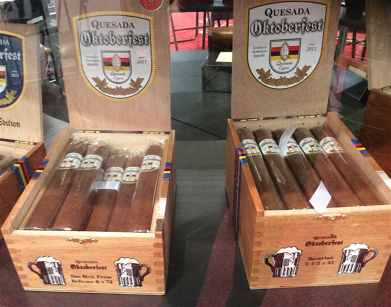 Cigar News: Quesada Oktoberfest 2017 Showcased at IPCPR