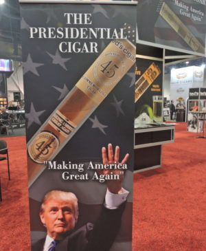 Cigar News: Ted's Presidential Cigar Showcased at 2017 IPCPR