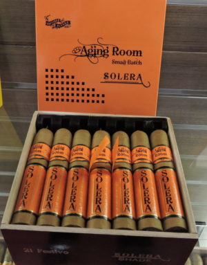 Cigar News: Boutique Blends Showcases Aging Room Solera Shade at 2017 IPCPR