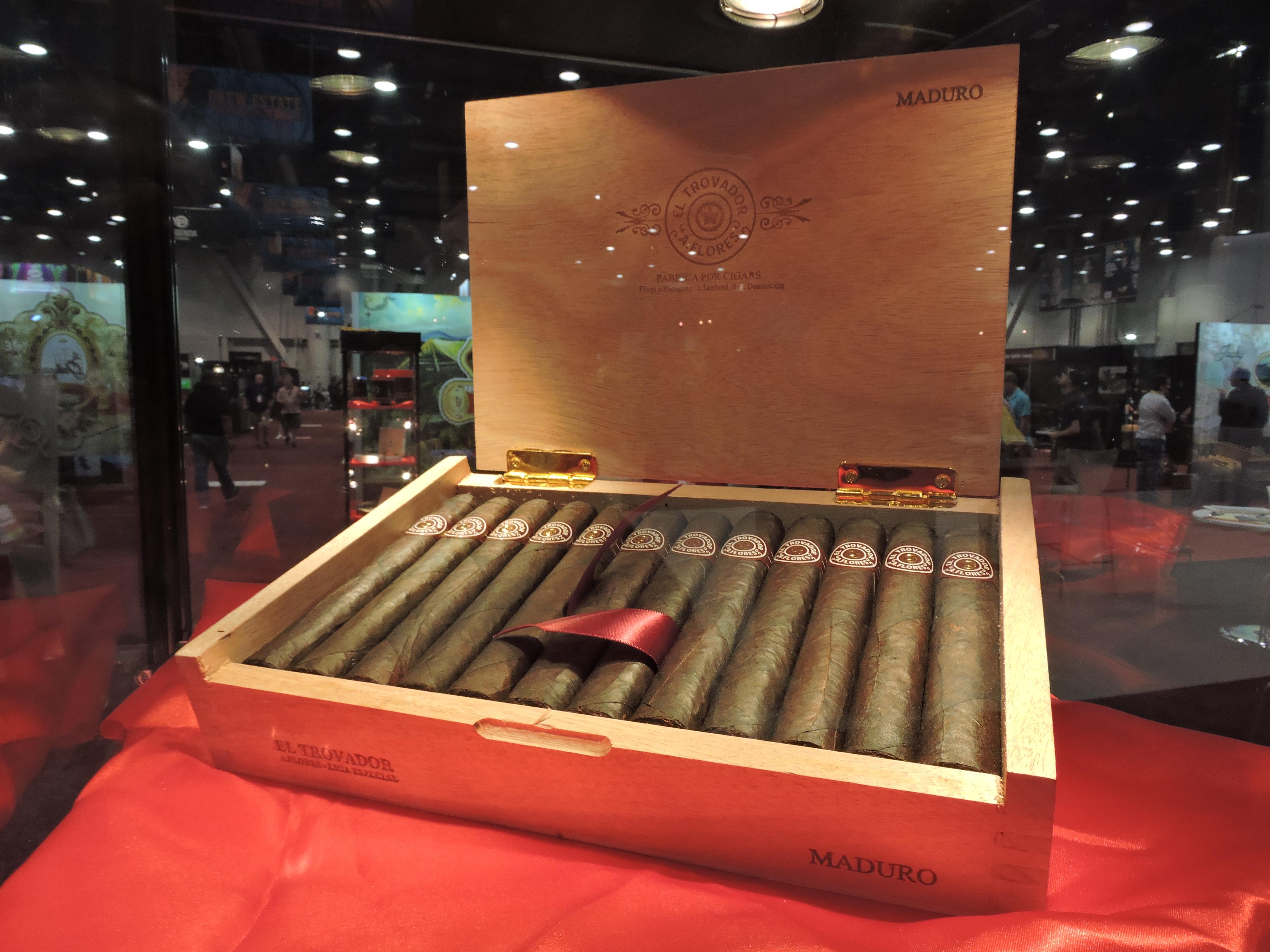 Cigar News: PDR Cigars Unveils El Trovador Maduro at 2017 IPCPR