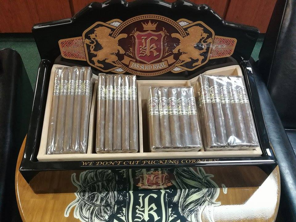 Cigar News: Jas Sum Kral Introduces Tray Displays for Retailers