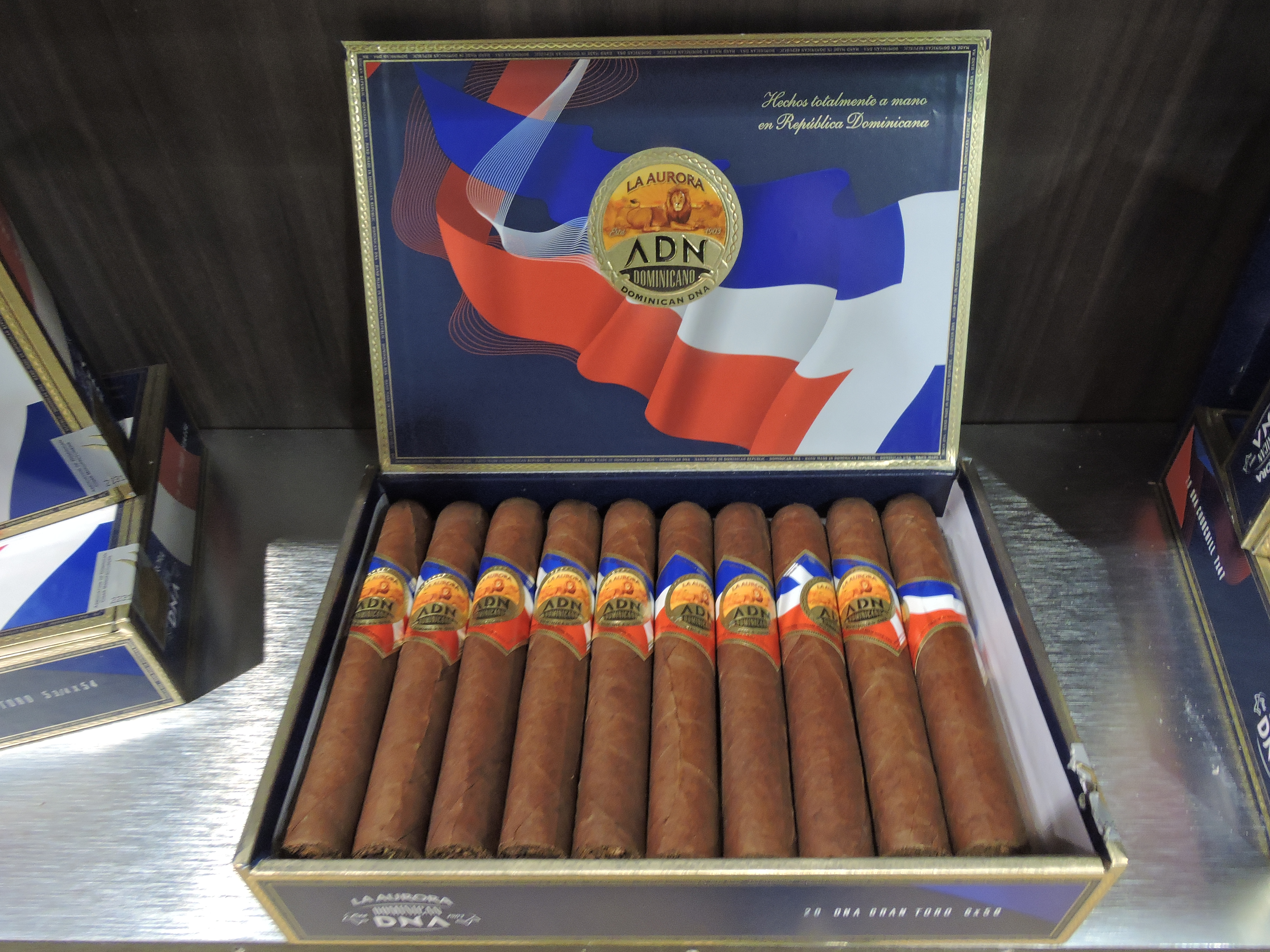 Cigar News: La Aurora ADN Dominicano Officially Launched at 2017 IPCPR