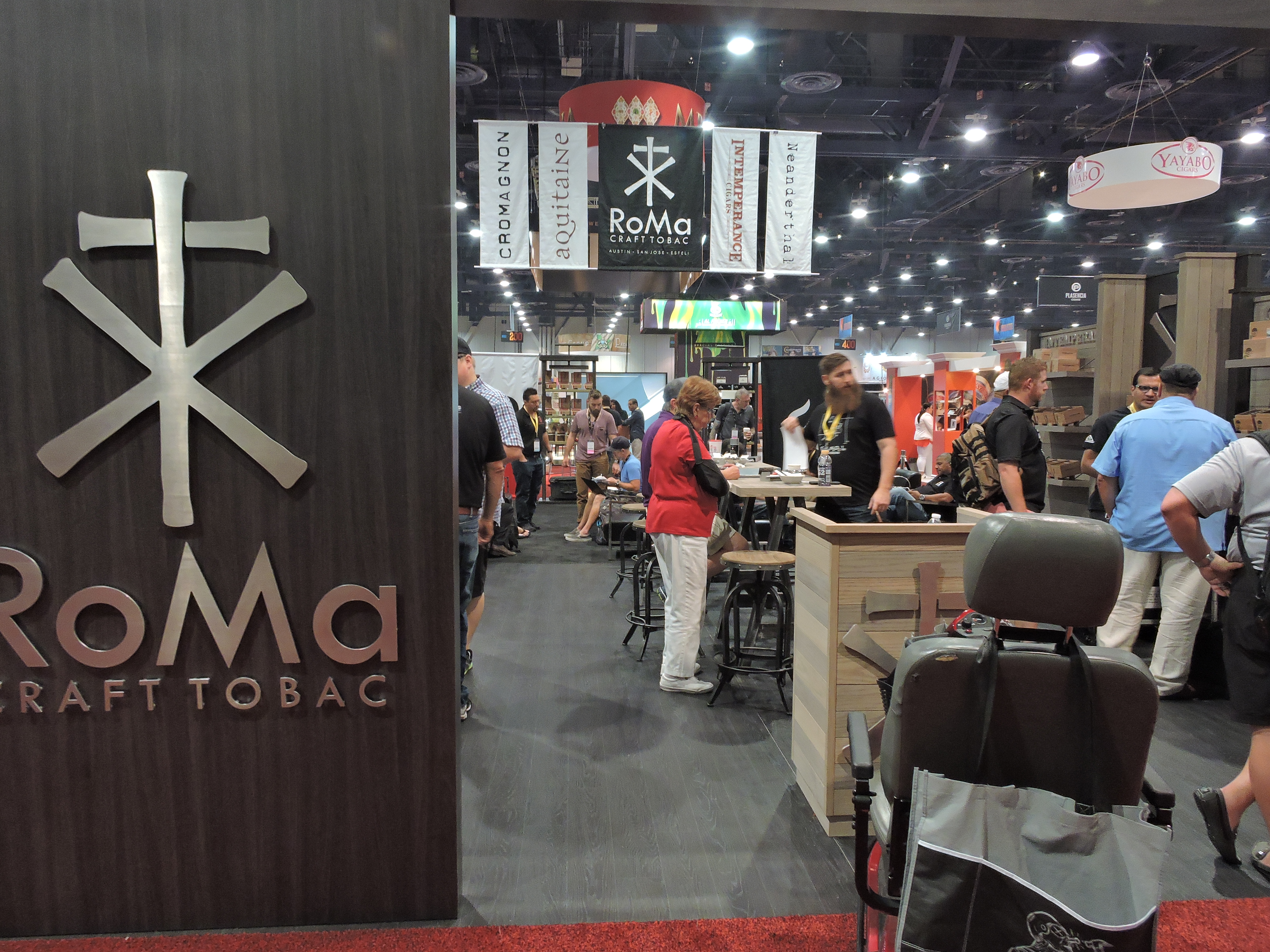 RoMa Craft Tobac IPCPR Booth