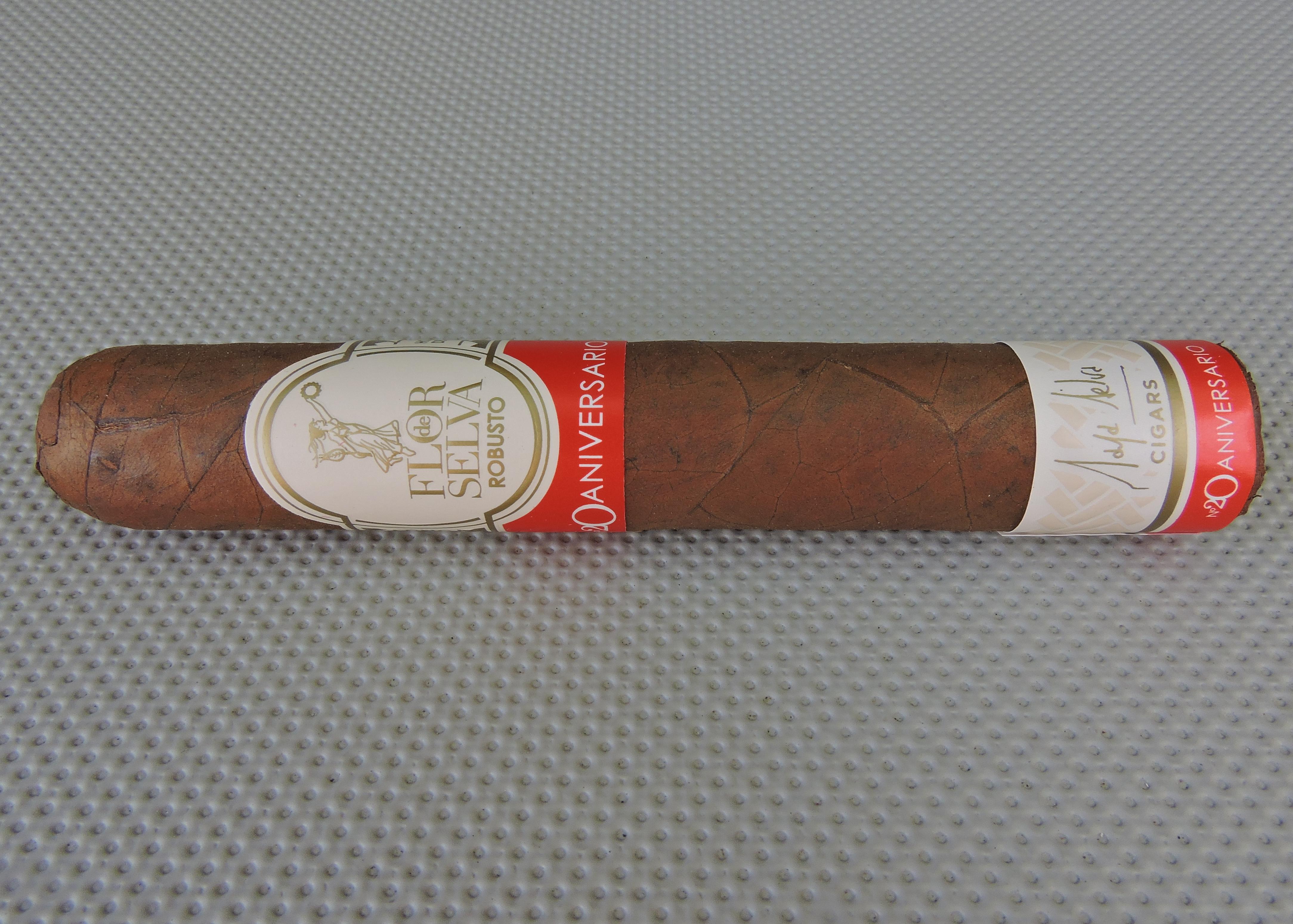 Cigar Review: Flor de Selva Colección Aniversario Nº20 Robusto by Maya Selva Cigars
