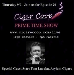 Announcement: Prime Time Show Episode 20: 9/7/17 10pm Eastern, 7pm Pacific