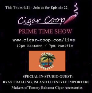 Announcement: Prime Time Show Episode 22: 9/21/17 10pm Eastern, 7pm Pacific