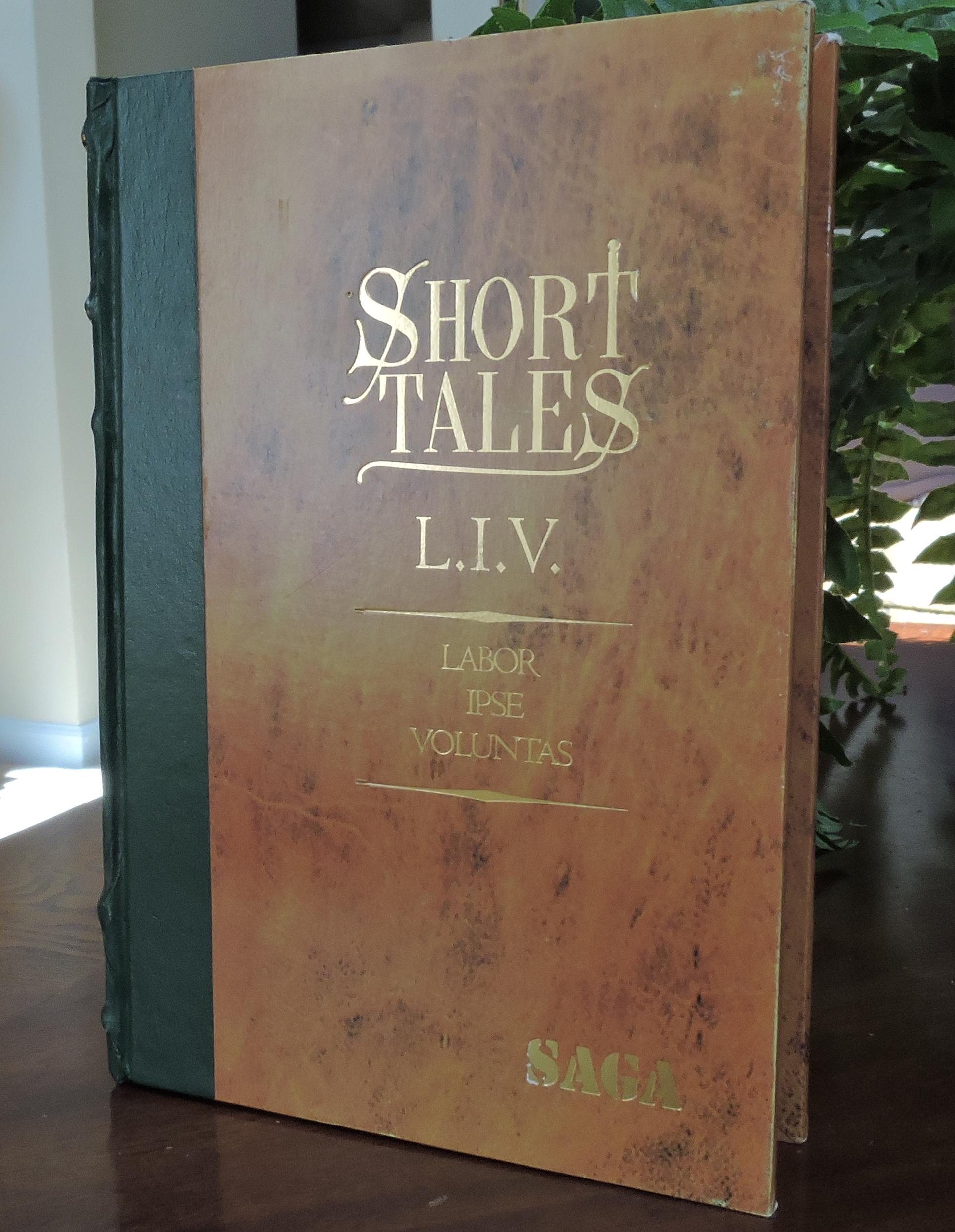 Saga Short Tales Tomo III-L.I.V..-Front