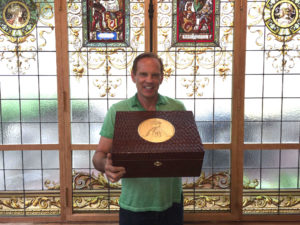 Cigar News: One-of-a Kind Humidor by Daniel Marshall Was Among Auction Items at Gala for the Global Ocean