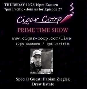 Announcement: Prime Time Show Episode 27: 10/26/17 10pm Eastern, 7pm Pacific