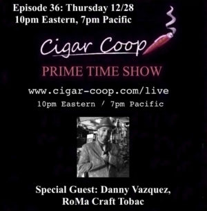 Announcement: Prime Time Show Episode 36 12/28/17 10pm Eastern, 7pm Pacific