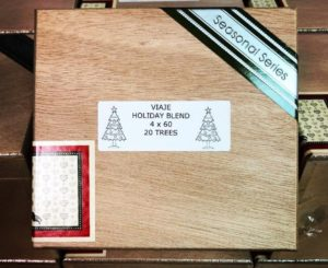 Cigar News: Viaje Holiday Blend Christmas Tree Returns for 2017