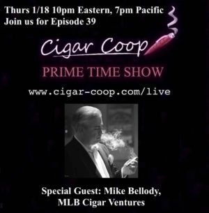 Announcement: Prime Time Show Episode 39 1/18/18 10pm Eastern, 7pm Pacific