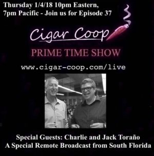 Announcement: Prime Time Show Episode 37 1/4/18 10pm Eastern, 7pm Pacific
