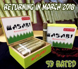 Cigar News: Espinosa Wasabi Returns for 2018