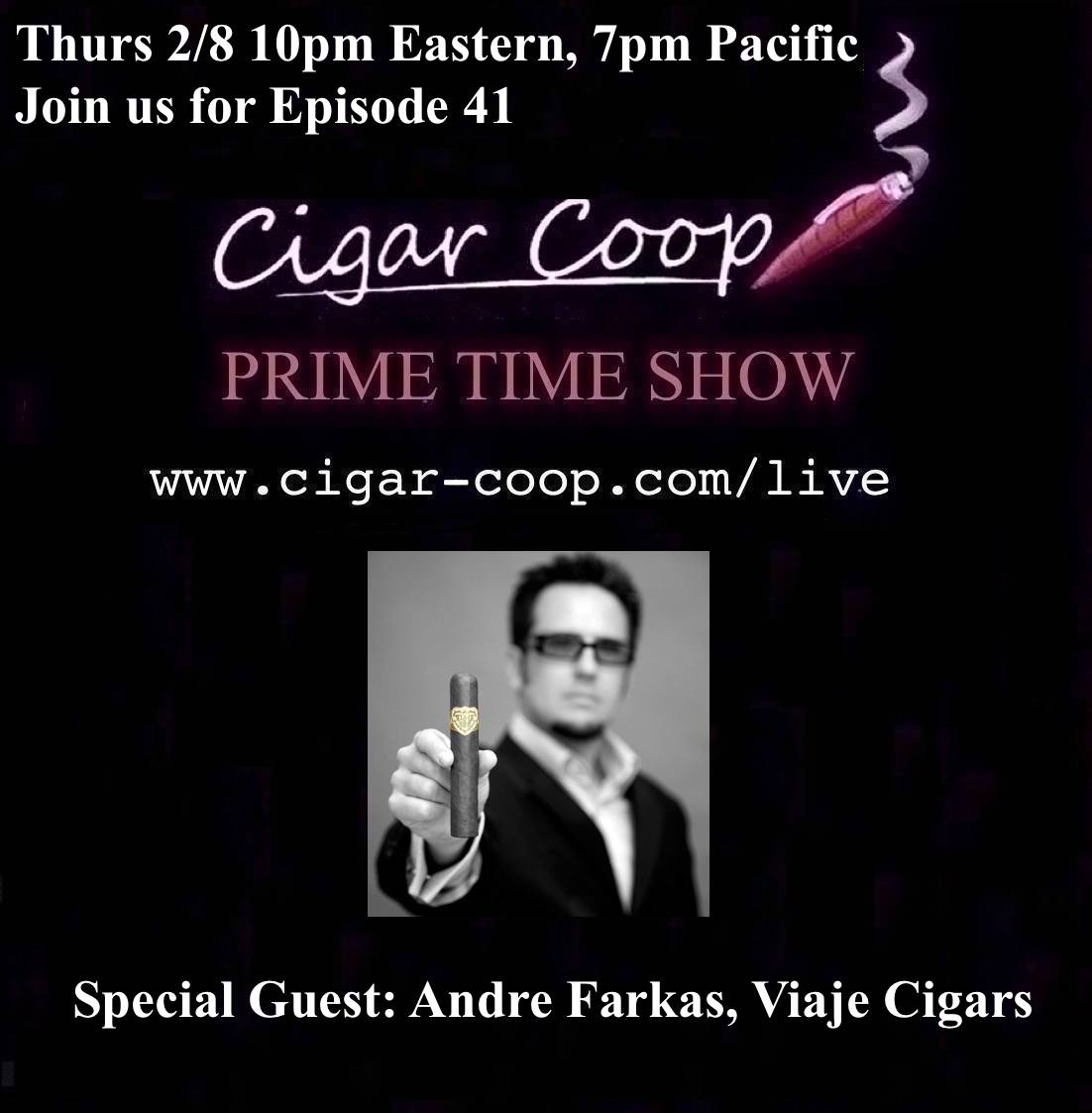 Announcement: Prime Time Show Episode 41 2/8/18 10pm Eastern, 7pm Pacific