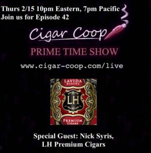 Announcement: Prime Time Show Episode 42 2/15/18 10pm Eastern, 7pm Pacific
