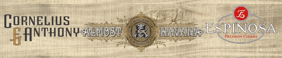 Announcement: Cornelius & Anthony and Espinosa Cigars Announce a Smoking Shed Promo for Almost Havana in Hurricane, WV