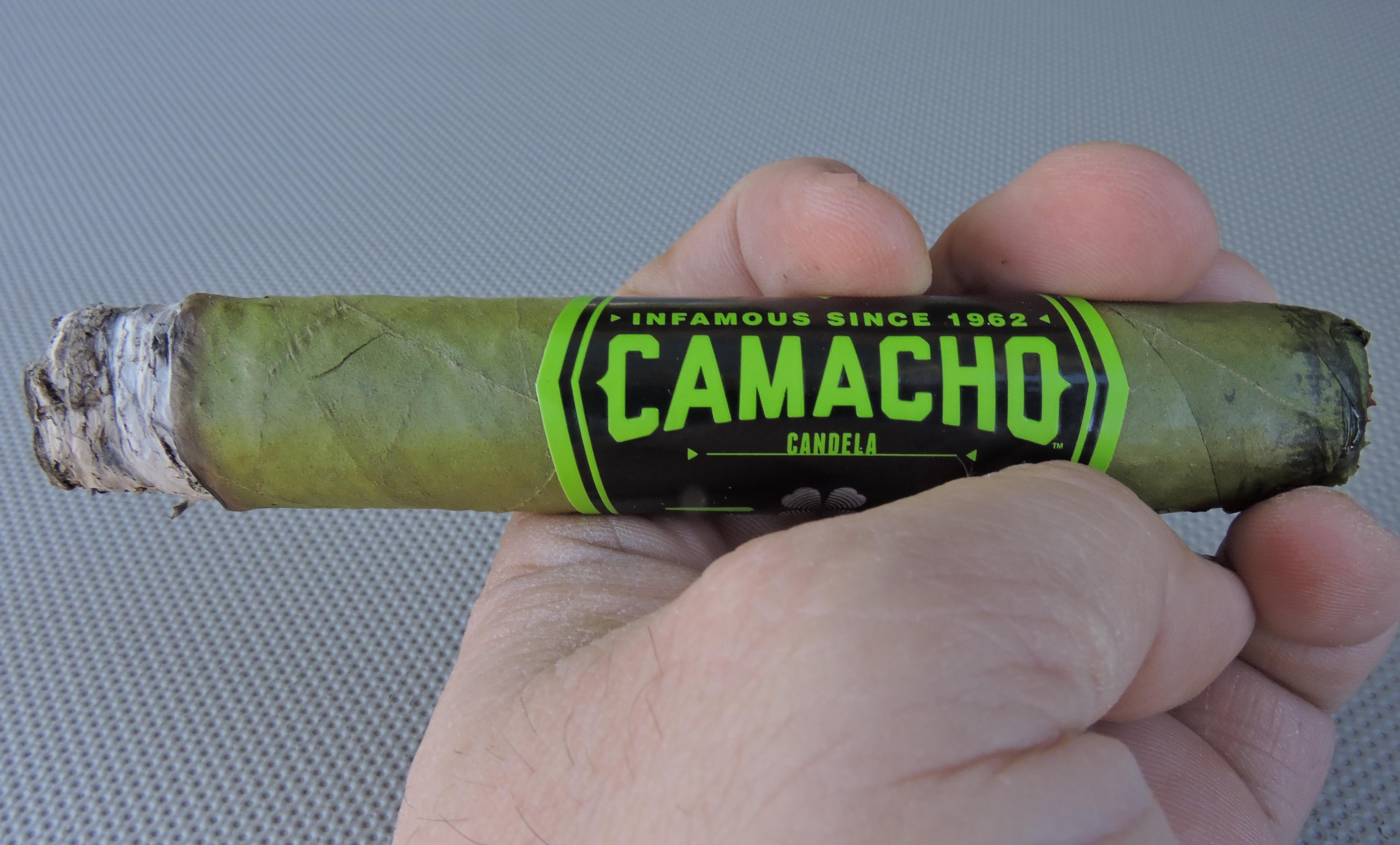 Camacho Candela Robusto 2018 - Burn